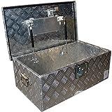 Werkzeugbox Deichselbox Staubox 700x395xH256mm Staukasten für Anhänger Deichsel