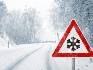 Winter auf der Straße