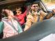 Fahren mit Dachbox