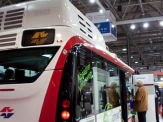 Elektro-Bus in Wien